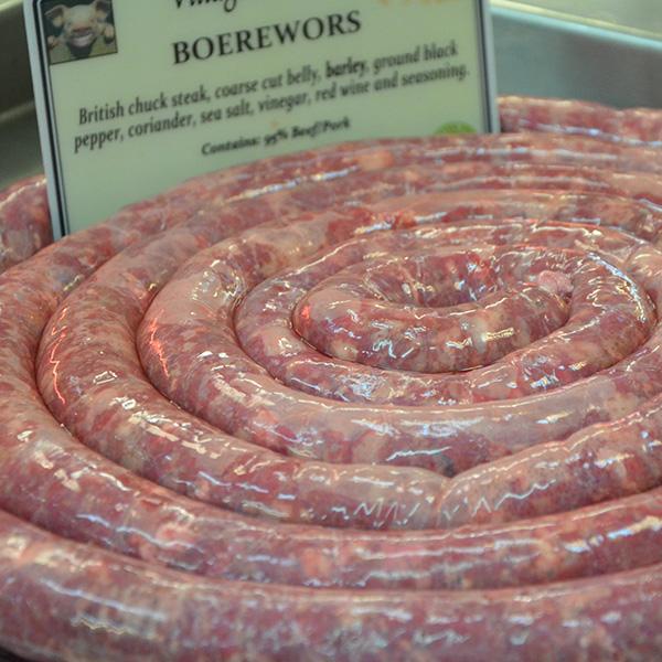 Boerewors Sausages