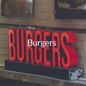 Gluten Free Beef Burgers