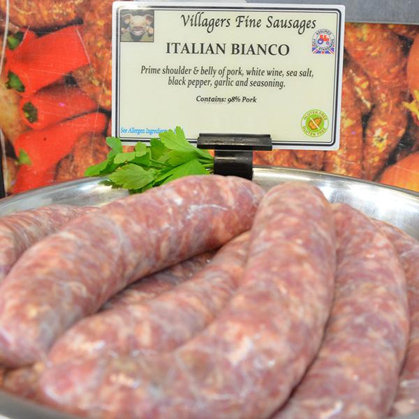 Italian Bianco Sausages