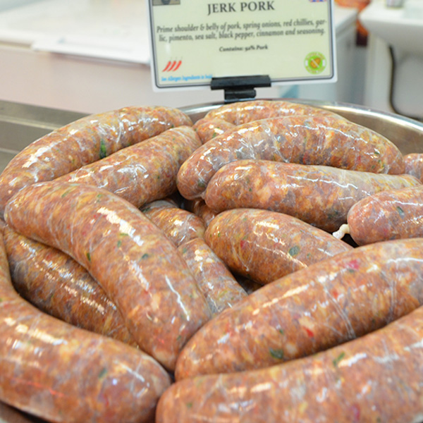 Jerk Pork Sausages