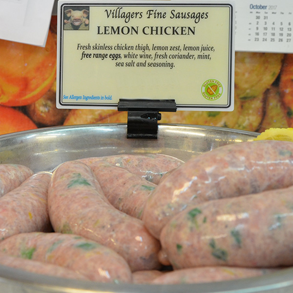 Lemon Chicken Sausages