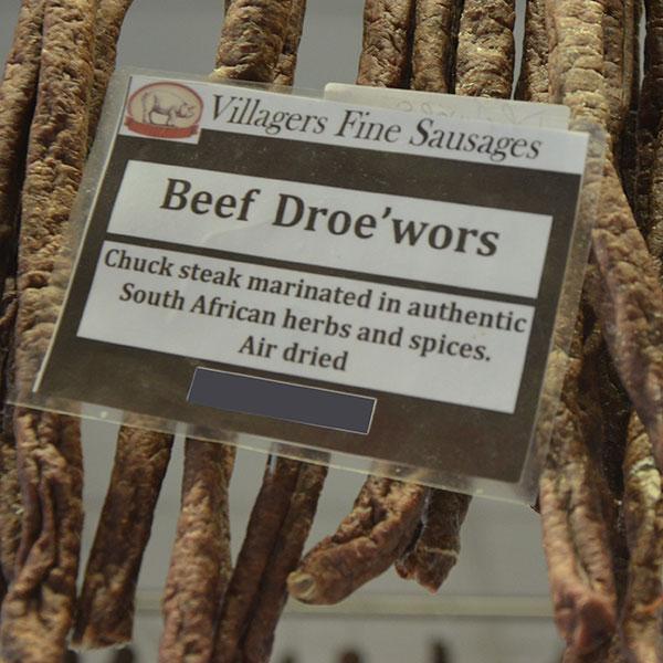 Beef Droe'wors