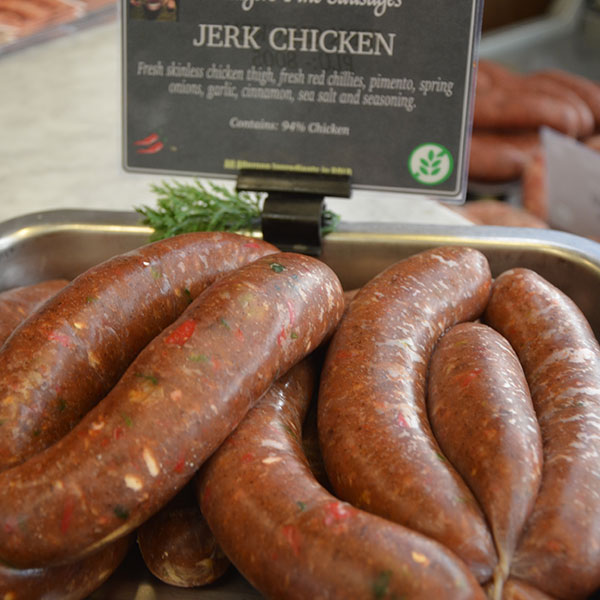 Jerk Chicken Sausages