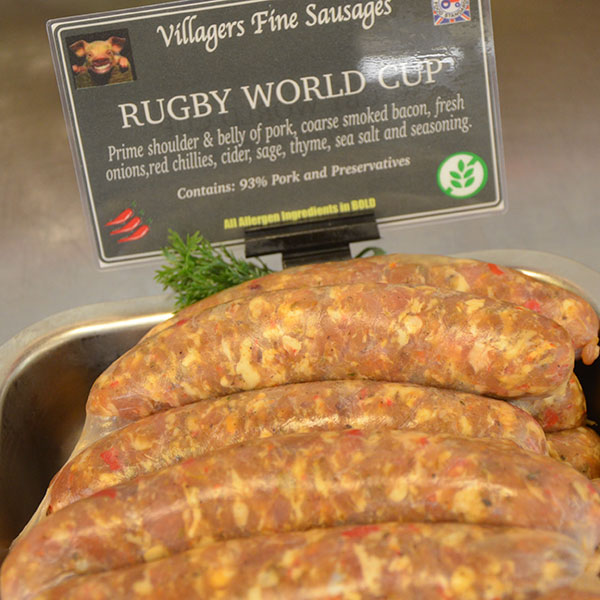 Rugby World Cup Sausage