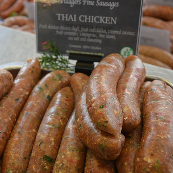 Thai Chicken Sausages